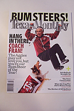 Texas Monthly, Vol. 36, Issue 1, January 2008 (Image1)