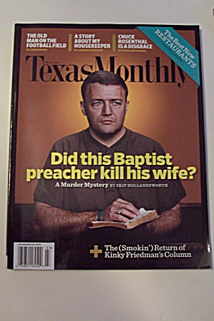 Texas Monthly, Vol. 36, Issue 3, March 2008 (Image1)