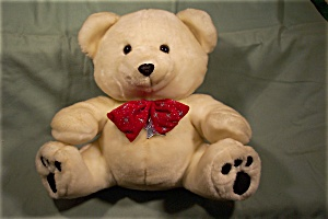 Cream Colored Wishes Stuffed Bear