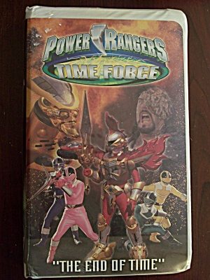 "Power Rangers Time Force ""the End Of Time"""