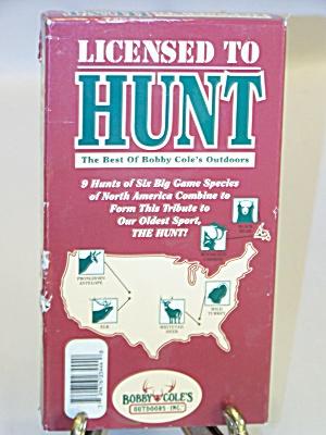 Licensed To Hunt (Image1)