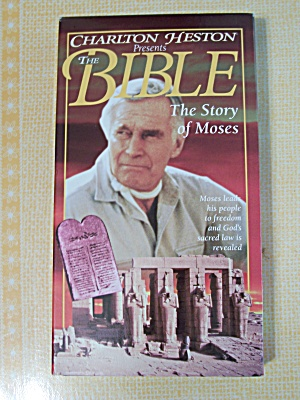 Charlton Geston Presents The Bible, The Story Of Moses (Image1)