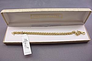 Monet Gold Plated Bracelet (Image1)
