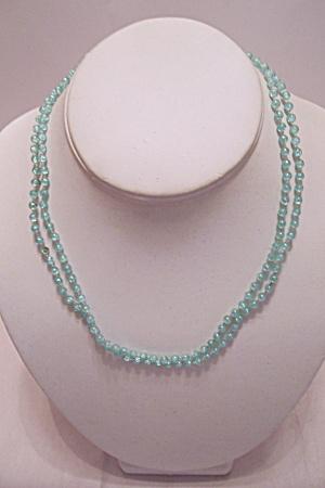 Light Blue Bead Necklace (Image1)