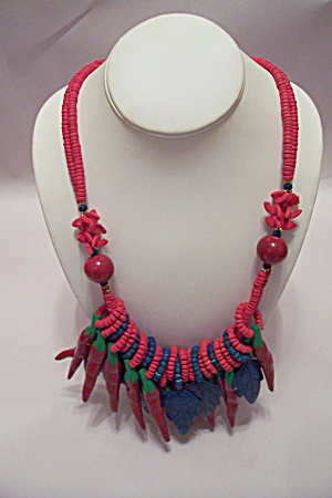 Wild Red Pepper Necklace