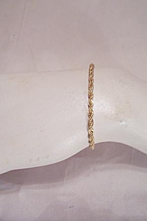 Brilliant Gold Tone Ankle/Wrist Bracelet (Image1)