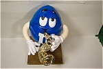 Click here to enlarge image and see more about item ADMM001: M&M  Saxaphone Player Dispenser
