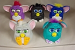 Click here to enlarge image and see more about item ASMCD011: Set Of Five McDonald's Furbies