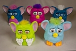 Click here to enlarge image and see more about item ASMCD012: Set Of Five McDonald's Furbies