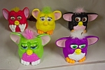 Click here to enlarge image and see more about item ASMCD023: Set Of Five McDonald/s Furbies