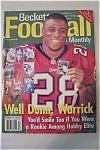 Beckett Football Card Monthly, December 1997, Issue#93