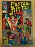 Captain Justice, Vol. 1, No. 2, April 1988