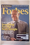 Click to view larger image of Forbes Magazine, Vol. 176, No. 4, September 5, 2005 (Image1)