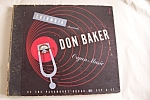 Click here to enlarge image and see more about item R780084: Don Baker-Organ Music