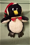 "Nice stuffed penguin titled ""Cuddle Wit"".  17 inches tall and 12 inches wide.  Made in China.  Ages 3 and up.  Clean."
