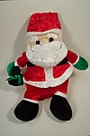 Click here to enlarge image and see more about item TSA0009: Cuddly Cousins Plush Santa Claus Stuffed Toy