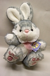 Veru cute Soft Expressions plush stuffed rabbit.  12 inches tall with ears.  Like new.  Made in Taiwan