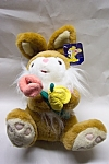 Nice plush J. M. Toy's stuffed rabbit.  12 inches tall.  Clean.  Made in China.