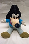 "Vintage Walt Disney ""Mickey's Christmas Carol"" stuffed toy.  9-1/2 inches tall.  Made in Korea.  Circa 1960s.  Light soiling."