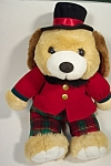 Click here to enlarge image and see more about item TSB0011: Top Hat Stuffed Bear