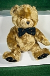 Plush Green Bow Tie Stuffed Bear