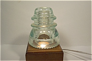 Hemigray #42 Opalescent Cast Glass Insulator (Image1)