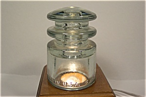 Kerr TS  Clear Glass Insulator (Image1)
