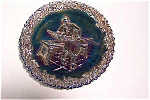 Fenton Carnival Glass Commemorative Collector Plate (Image1)