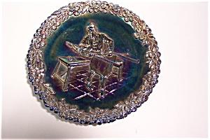 Fenton Carnival Glass Commemorative Collector Plate (Image1)
