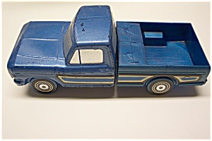Blue 1973 Ford Ranger Truck Men's Decanter (Image1)