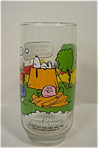 Mcdonald's Camp Snoopy Collection Glass