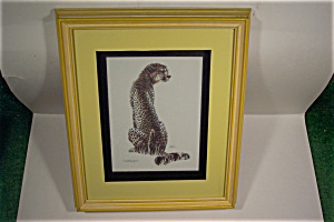Indian/African Cheetah Print by Kushner (Image1)