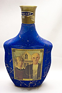 "Bean's ""american Gothic - Grant Wood"" Bottle"
