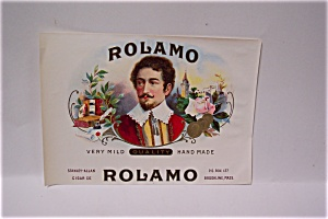 Rolamo Cigar Box Label (Image1)