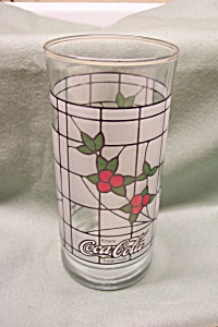 Coca Cola Advertising Holiday Glasses