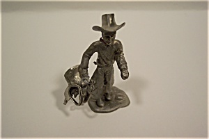 Cowboy With Saddle (Image1)