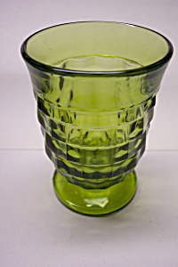 Whitehall Pattern 6 Ounce Green Juice Tumbler