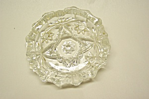 "Anchor Hocking Early American Prescut 4"" Ashtray (Image1)"