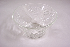 Anchor Hocking Early American Prescut Glass Sherbert (Image1)
