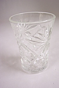 Early American Prescut Glass Juice Tumbler (Image1)