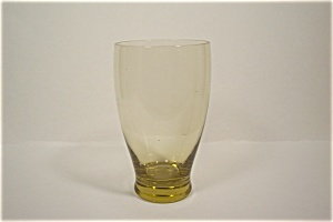 Vaseline Tinted Water Glass/tumbler
