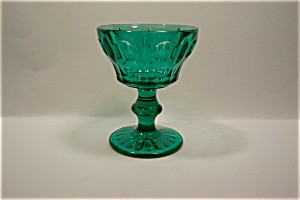 Crystal And Amber Coctail/Wine Glass (Image1)
