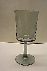 Smokey Topaz Wine Glass