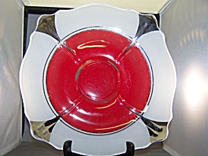 Vintage Art Deco Shallow Bowl (Image1)
