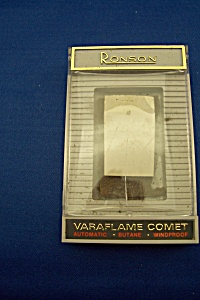 Original Ronson Varaflame Comet Lighter Packaging (Image1)