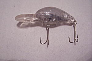 Clear Plastic Lure With Lead Shot Inside