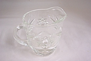 Anchor Hocking EAPC Crystal Glass Creamer (Image1)