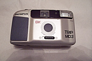 Olympus Dx Trip Md3 Rangefinder 35mm Camera