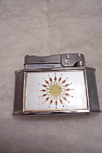 Rogers Sun Dial Symbol Cigarette Lighter
