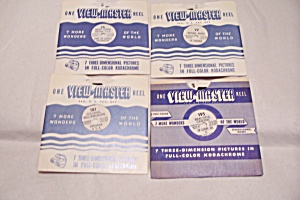 Set of 4 View-Master Reels On Virginia (Image1)